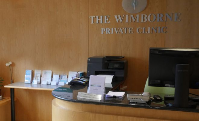 Wimborne Clinic Reception